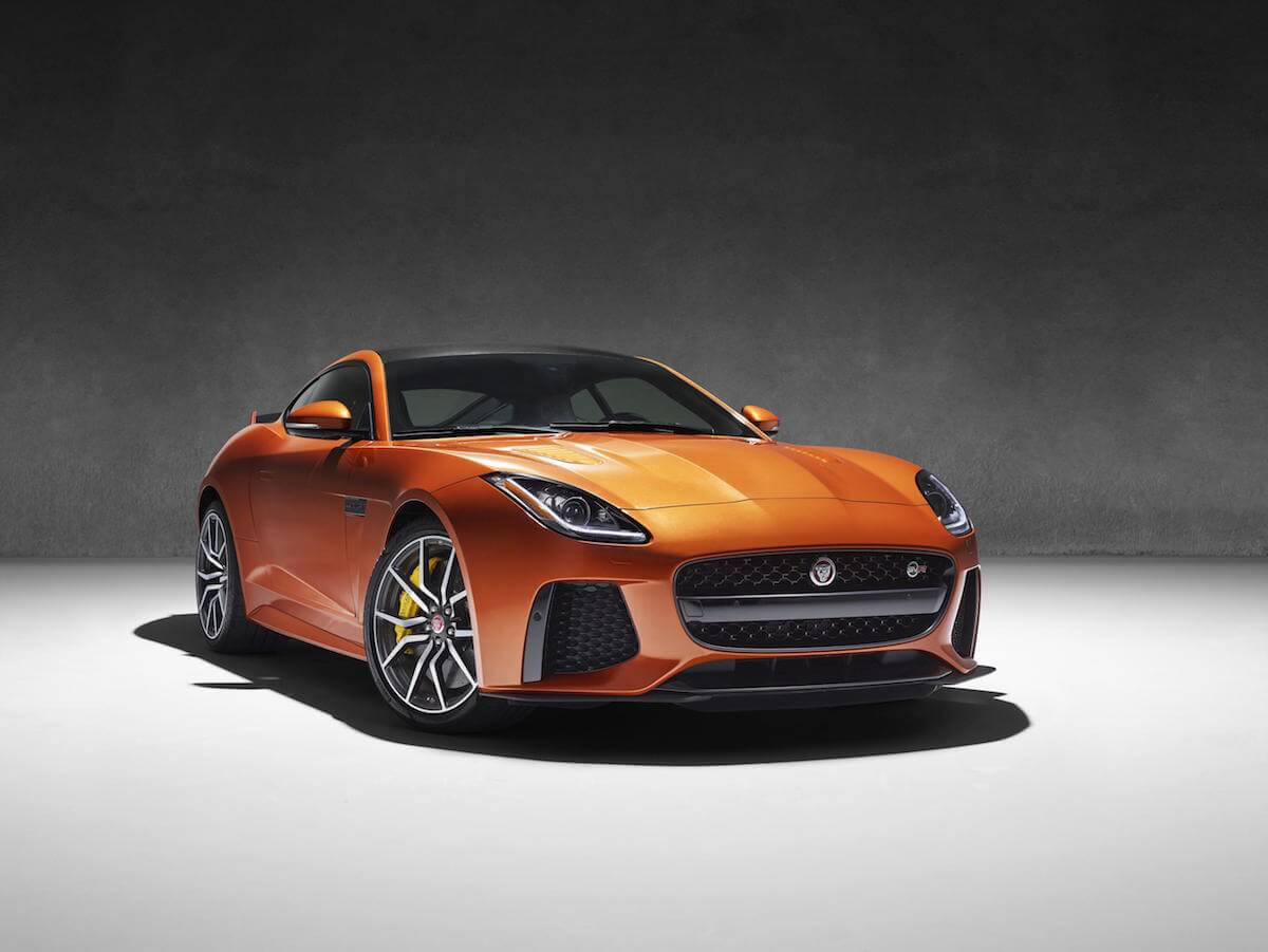 Jaguar F-Type SVR 17