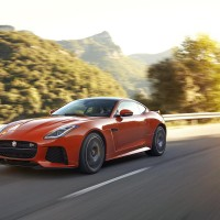 Jaguar have just released pics of the F-Type SVR and it's pretty epic
