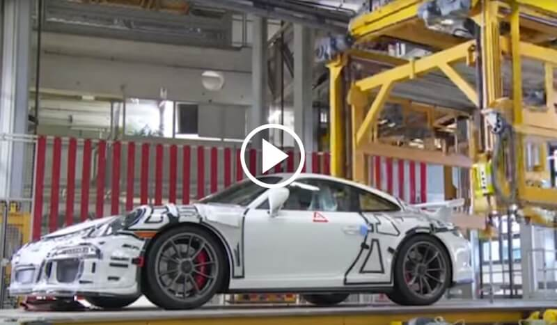 This is how you build a Porsche 911 from start to finish