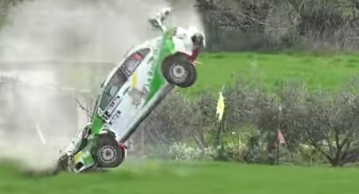 Worst crashes from 2016  Rally Circuito de Navarra