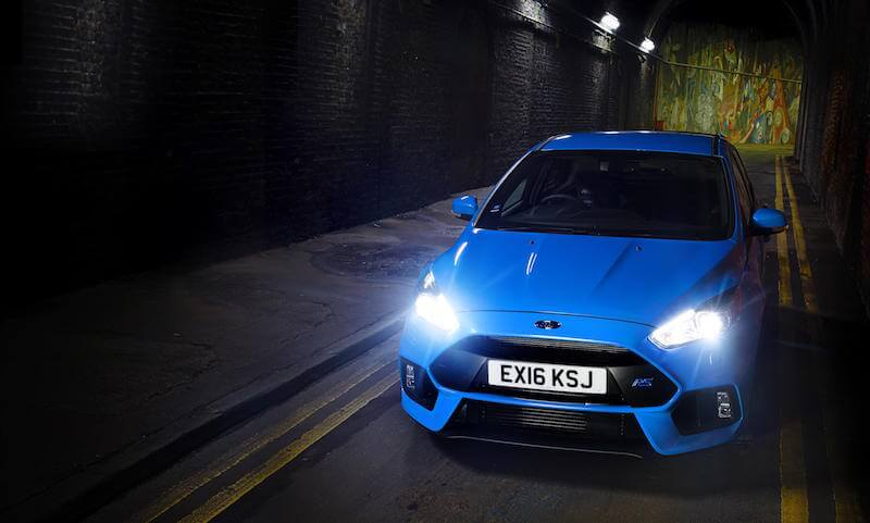 Ford Focus RS is Top Gear magazine's 2016 Car of the Year