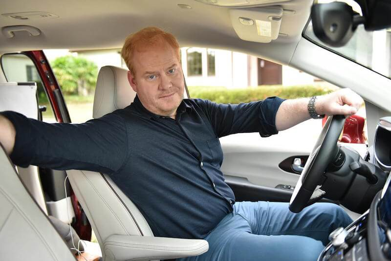 Watch Jim Gaffigan in the new 2017 Chrysler Pacifica commercials