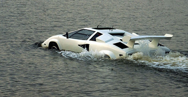 Amphibious Lamborghini for sale on eBay