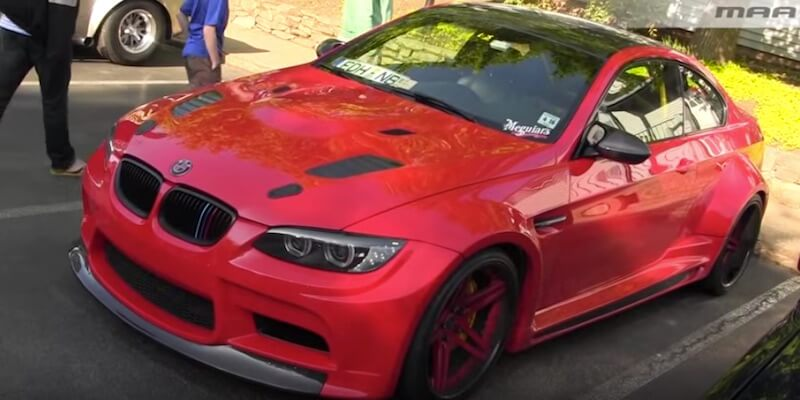 This widebody M3 looks a beast. But wait till you hear how it sounds