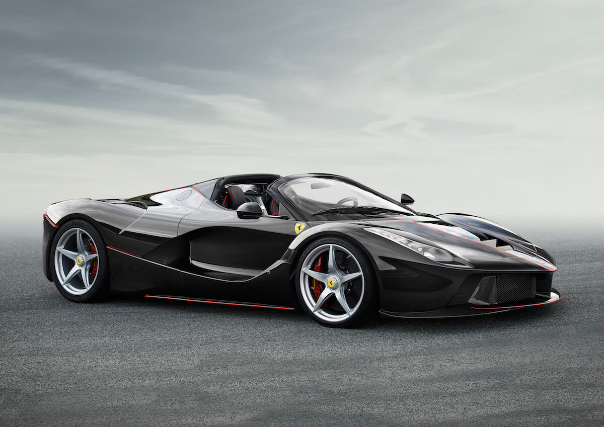 Ferrari LaFerrari Aperta anyone?